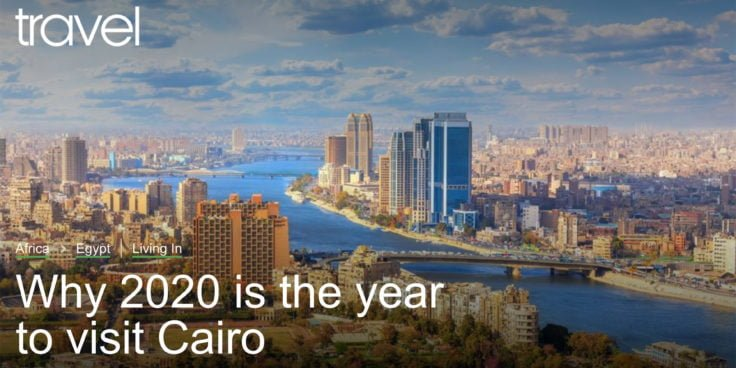 BBC Travel - Why 2020 is the year to visit Cairo